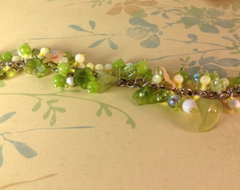 Yellow And Green Summer Bracelet