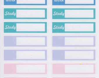 Custom Box Scheduler   322   Planner Sticker   Kikki-K   Happy Planner   Erin Condren   No Discount Codes on this Item