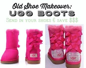 Old Shoe Makeover - UGG
