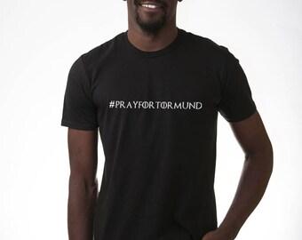 Game of Thrones #prayfortormund T shirt