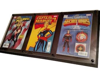 3 wide Comic Display