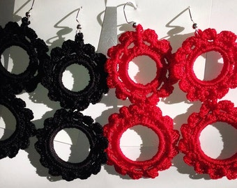 Handmade Earrings -Flamenco,