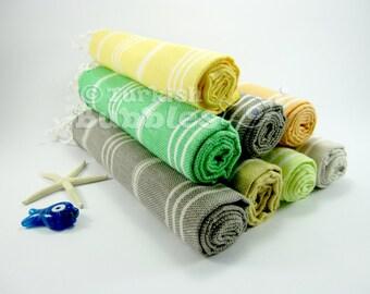 FREE EXPRESS Shipping Hand Towel, Set of 8 Turkish Towel, Tea Towel, Kitchen Towel, Peshkir Towel, Baby Towel, Cotton Towel, Turkishtowel