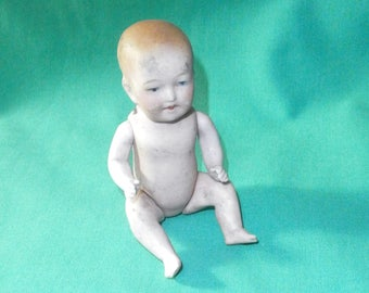 "dollhouse babydoll antique bisque porcelain 8903 .4""/antique/1910s/Limbach AG/Thuringia/Germany"