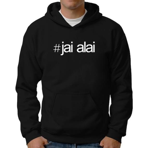 Hashtag Jai Alai Hoodie liOa5E