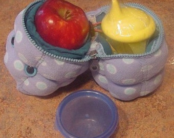 SNACK ATTACK MONSTER for little lunches