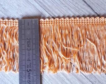 O6 lace fringe 50mm salmon peach
