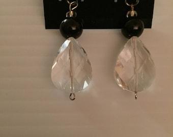 Crystal Bug Bead Earings