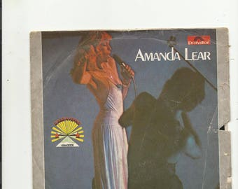 "7 "" amanda lear  queen of china town"