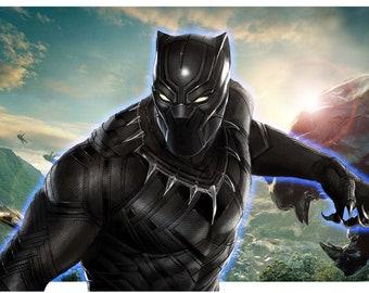 Black Panther Backlit Display
