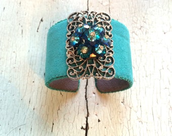 Turquoise Adjustable Cuff