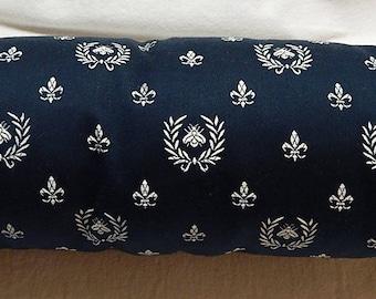 Charcoal black Bolster pillow