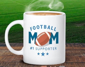 Football Mom, Football Mom Gift, Authentic Football Mom Design, Football Mom Mug, For Football Wedding, Football Mum, Football Party