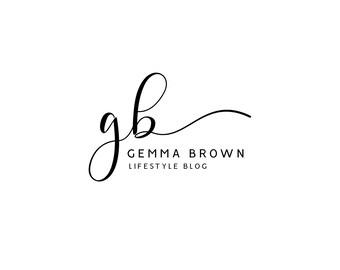Premade Logo / Blog Header Design / Branding - Minimalistic Elegant Design