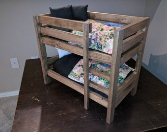 Adorable Doll Bunk Bed Set - (American Girl Doll Size)