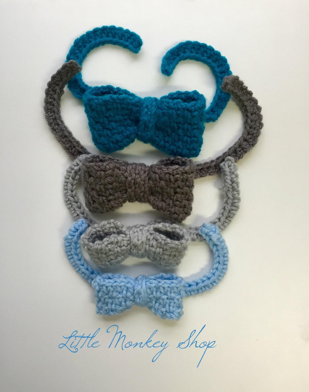 Bow Tie Crochet PATTERN Baby Boys Men Bow Tie Crochet