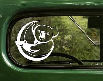 Koala Decal, Koala Sticker, Koala Bear Sticker, Car Decal, Vinyl Sticker, Car Stickers, Laptop Sticker, Vinyl Decal