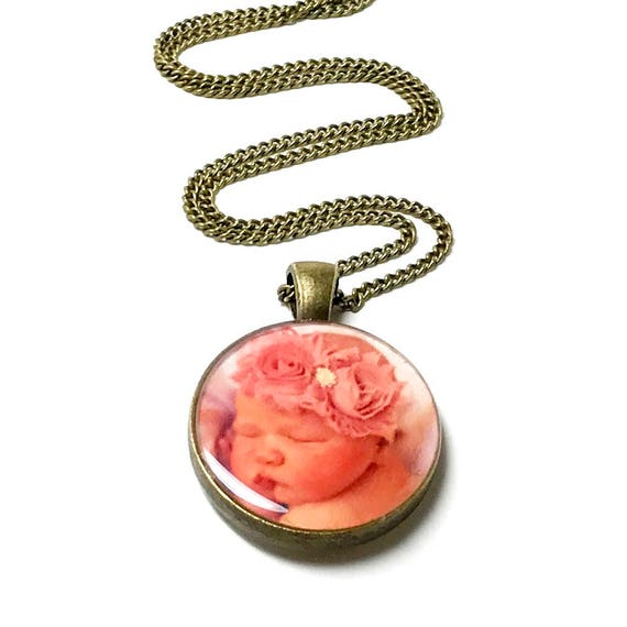 Make Your Own Necklaces And Jewelry At Home: CUSTOM Photo Necklace. Create Your Own. Photo Jewelry