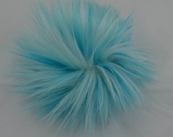 SALE Toothpaste Faux Fur Pom Pom