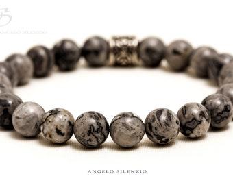 Natural Netstone beaded bracelet Ultra ladies bracelet mens bracelet Earrings bracelet Women bracelet Men