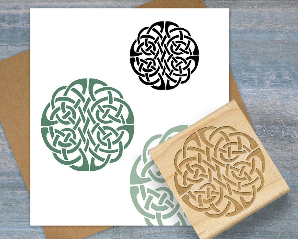 Celtic knot stamp infinity eternity symbol stamp celtic circle 1395 buycottarizona Image collections