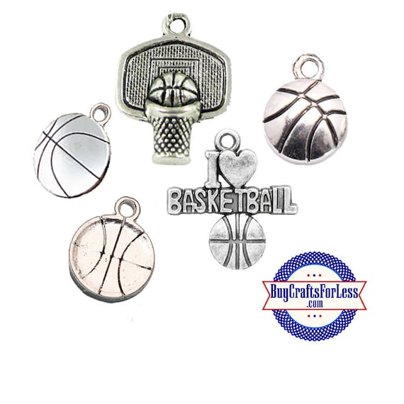 Basketball CHARMS - Choose Style +FREE Shipping & Discounts*