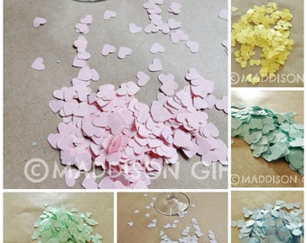 Heart Confetti Party Decorations Card Making Scrapbook Embellishments Paper Craft Supplies