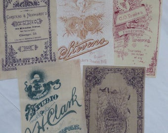 Fabric Photo Cards