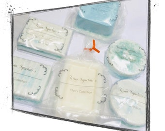 Father's Day Gifts. Men's Soap. Goats Milk Soap. Coldwater Fragrance. Natural  Soap. Set of 3.