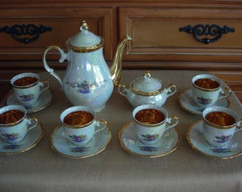 Luster Ware Tea Set Service for Six