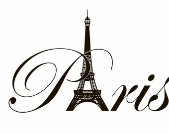 paris home decor items vinyl decal decor wall decal wall decals 11689