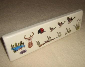 Brite, colorful, fun, key rack ( hunting anyone )