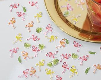 Flamingo Table Confetti, Hen Party Confetti, Wedding Confetti, Flamingo Tableware, Baby Shower Confetti, Birthday Party Flamingo Confetti