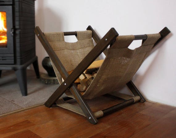Wood basket Storage basket Firewood rack Firewood holder