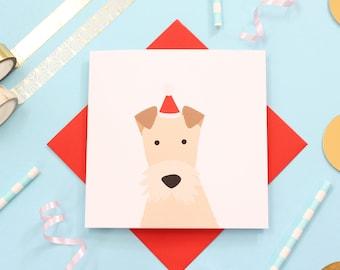 Christmas fox terrier