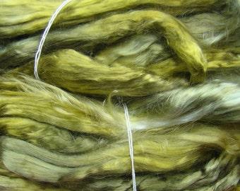 Tencel roving for spinning - Leaf 1 oz.