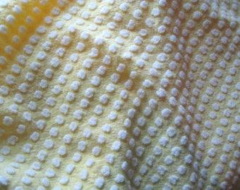 Sweet MJ Yellow with White Popcorn Lrg Pc.