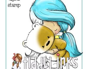 Wryn Loving and Teddy Bears | Digital Stamp