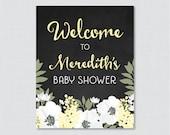 Chalkboard Baby Shower We...