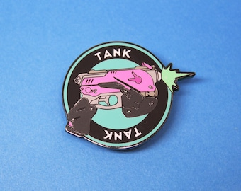 D.Vious Tank Achievement Pin - Enamel Pin Lapel Pin