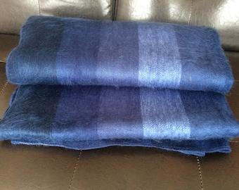 Huge Alpaca Wool Blanket Throw from Ecuador