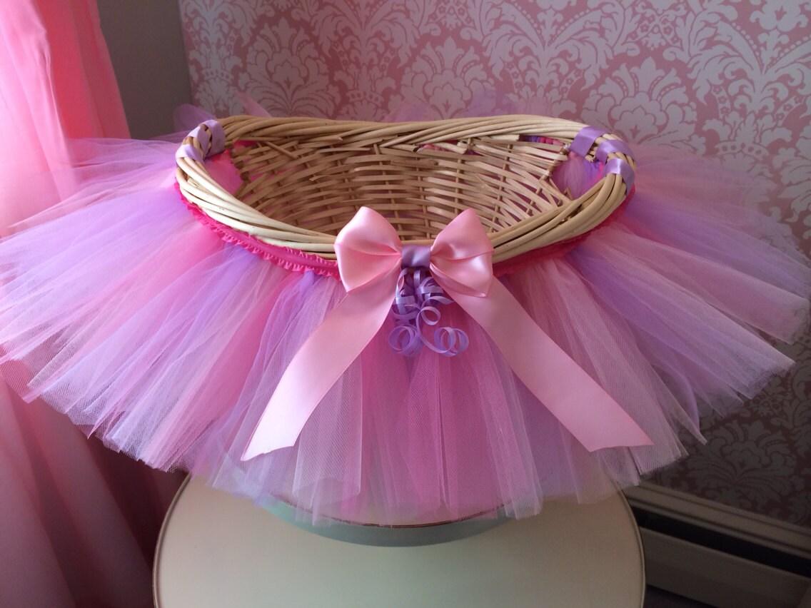 Tutu Basket Tutu Gift Basket Tutu Baby Shower Basket