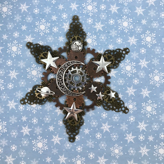 Celestial Steampunk Ornament