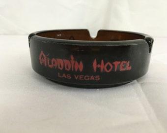 Vintage Las Vegas Ashtray - Aladdin Hotel