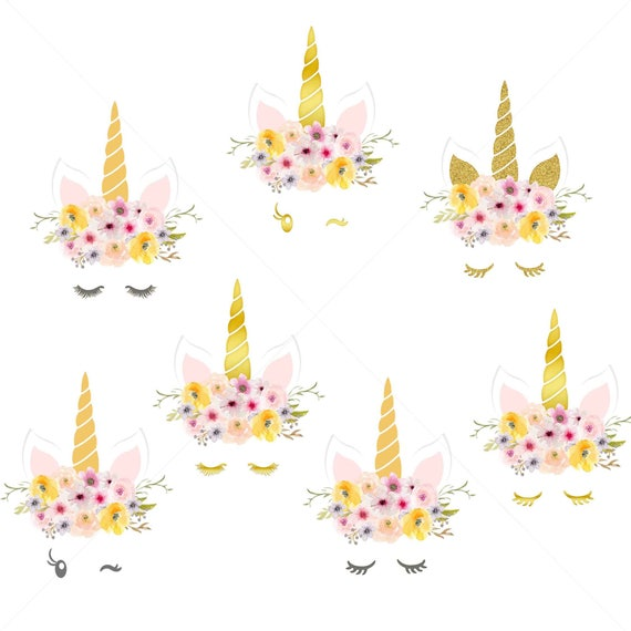 Bewitching image throughout unicorn face printable