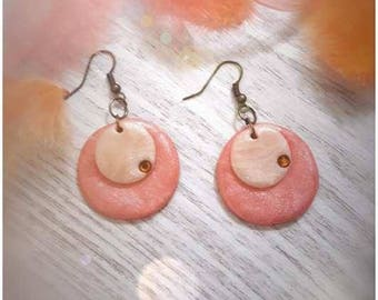 Pastilles Summer Sunset earrings
