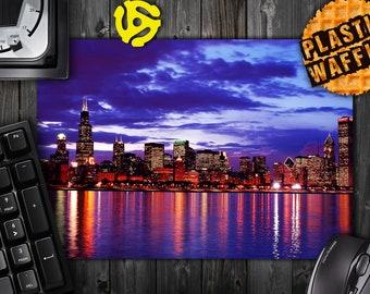 Chicago Skyline #1 Rectangle MousePad