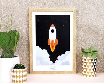 Affiche La Fusée