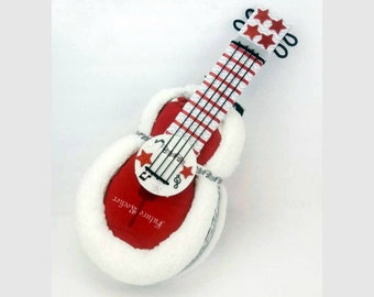 Diaper Cakes - Guitar Baby Shower - Rock n Roll - Baby Shower Centerpiece - Unique Diaper Cake - Unique Baby Gift