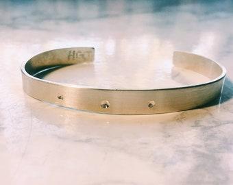 Drilled Hole Bracelet
